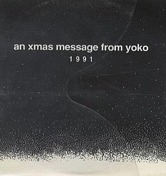 portadas discos navidad Yoko Ono xmas