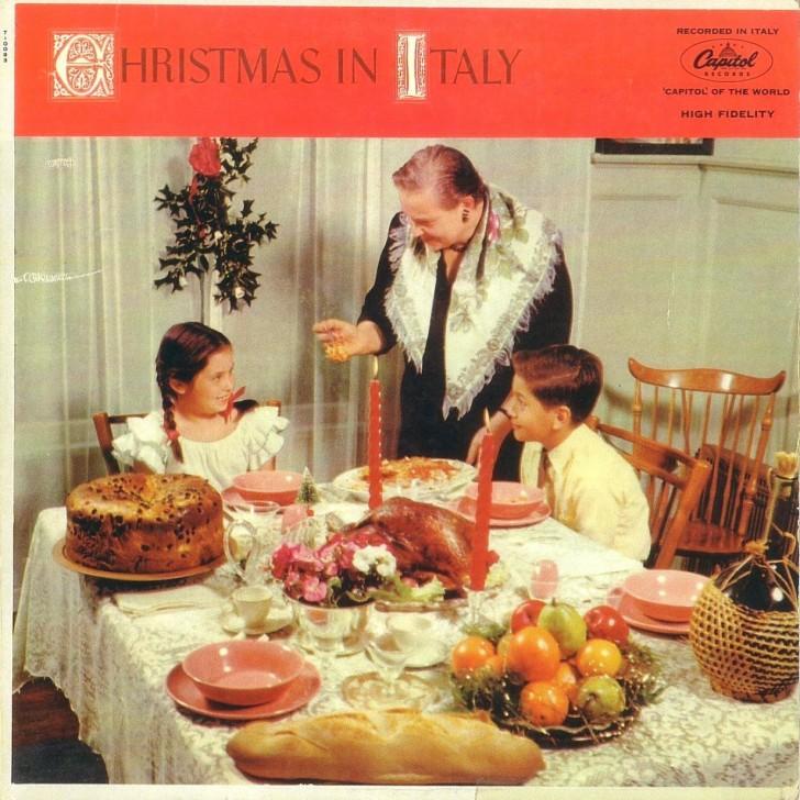 portadas discos navidad christmas in italy