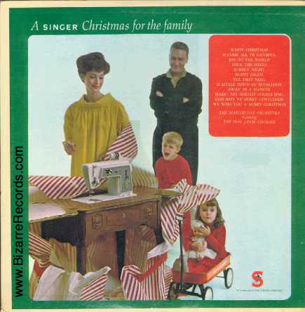 portadas discos navidad singer maquina coser