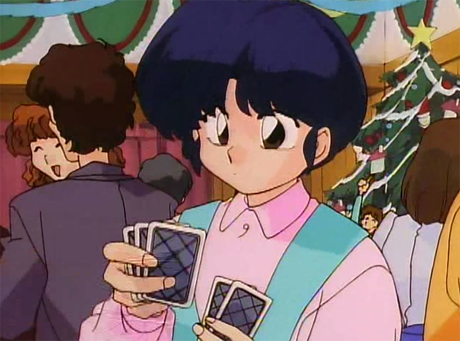 ranma anime christmas navidades movidas tendo akane cartas