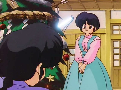 ranma anime christmas navidades movidas tendo akane