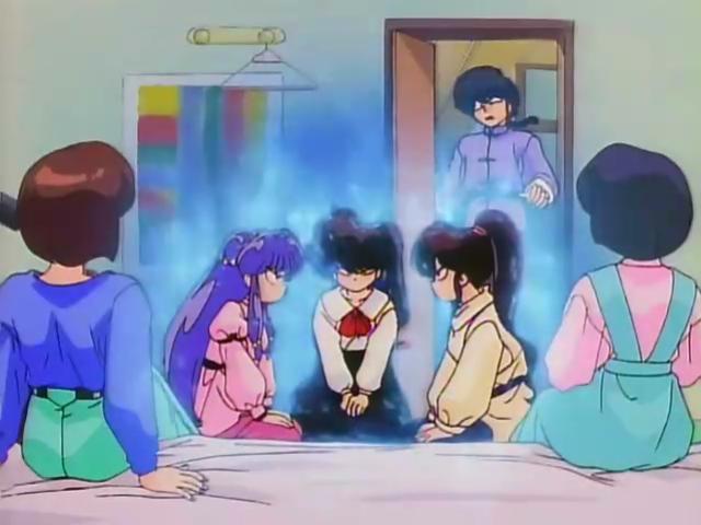 ranma anime christmas navidades movidas tendo chicas