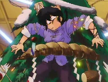 ranma anime christmas navidades movidas tendo colgado
