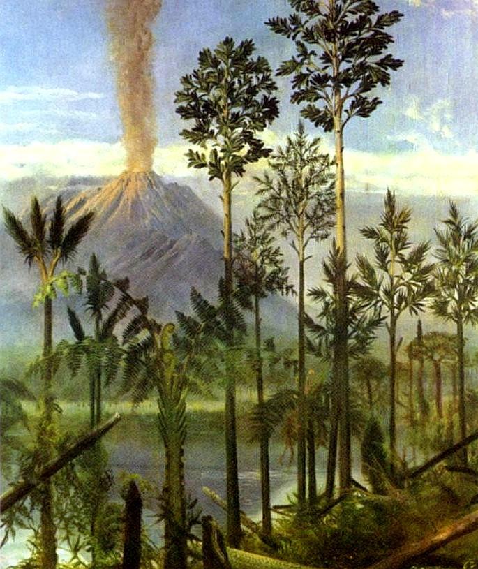 volcanes invierno glacial glaciaciones