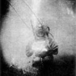 La primera fotografía submarina