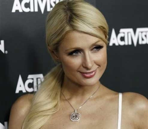 Paris Hilton Sonrisa desprecio