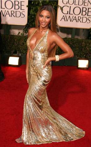 beyonce knowles golden globe awards