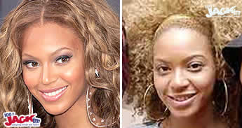 beyonce knowles sin maquillar maquillaje