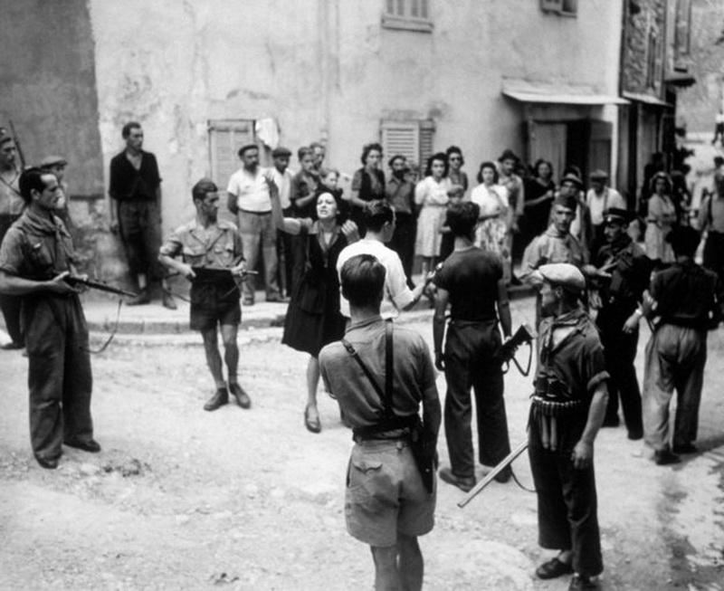 colaboracionistas alemanes franceses 1944