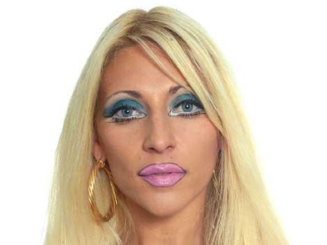 inma gh 7 maquillada