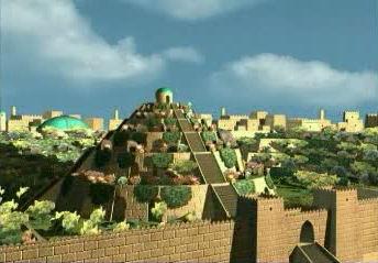 jardines colgantes babilonia maravillas 7 siete 04