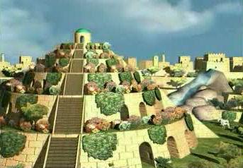 jardines colgantes babilonia maravillas 7 siete 05