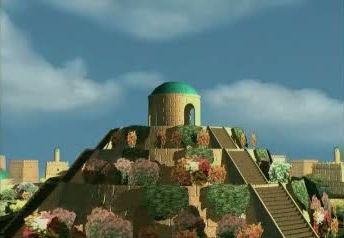 jardines colgantes babilonia maravillas 7 siete 08
