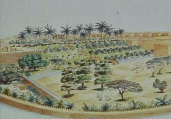 jardines colgantes babilonia maravillas 7 siete 18