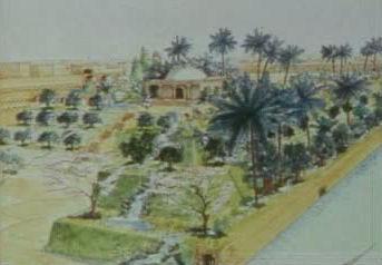 jardines colgantes babilonia maravillas 7 siete 19