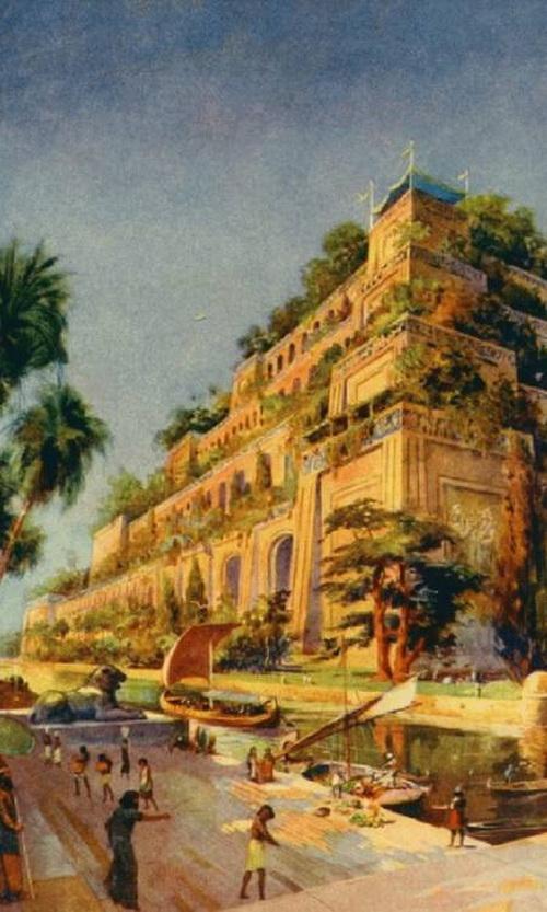jardines colgantes babilonia siete maravillas mundo 1