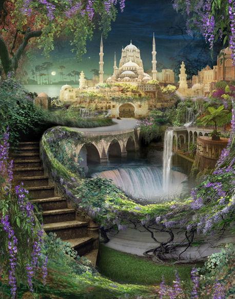 Los jardines colgantes de babilonia taringa for Los jardines colgantes de babilonia