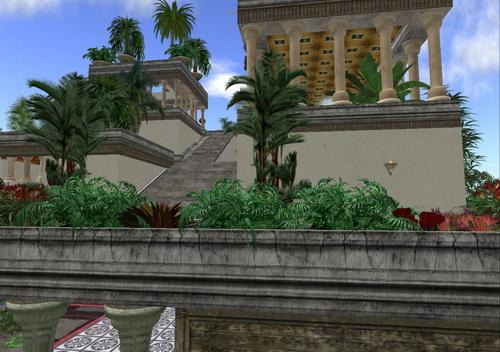jardines colgantes babilonia siete maravillas mundo 3