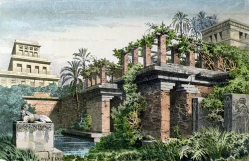 jardines colgantes babilonia siete maravillas mundo 4
