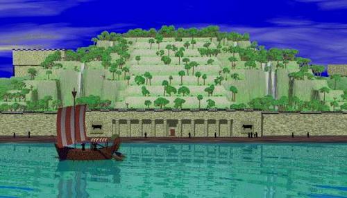 jardines colgantes babilonia siete maravillas mundo 5