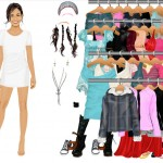 Juego Dress up moda y diseño para Vanessa Hudgens de HSM High School Music