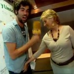 Mercedes Milá tonteando con Jordi Mestre