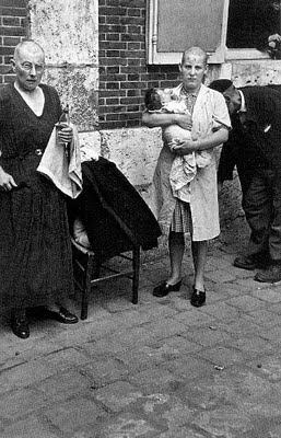 mujer francesa colaboracionista horizontal chartres 1944