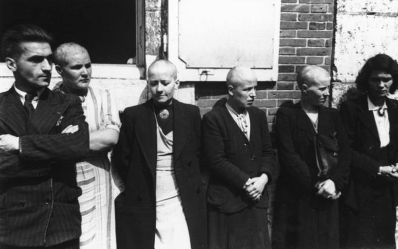 mujeres francesas colaboracionistas horizontales castigadas