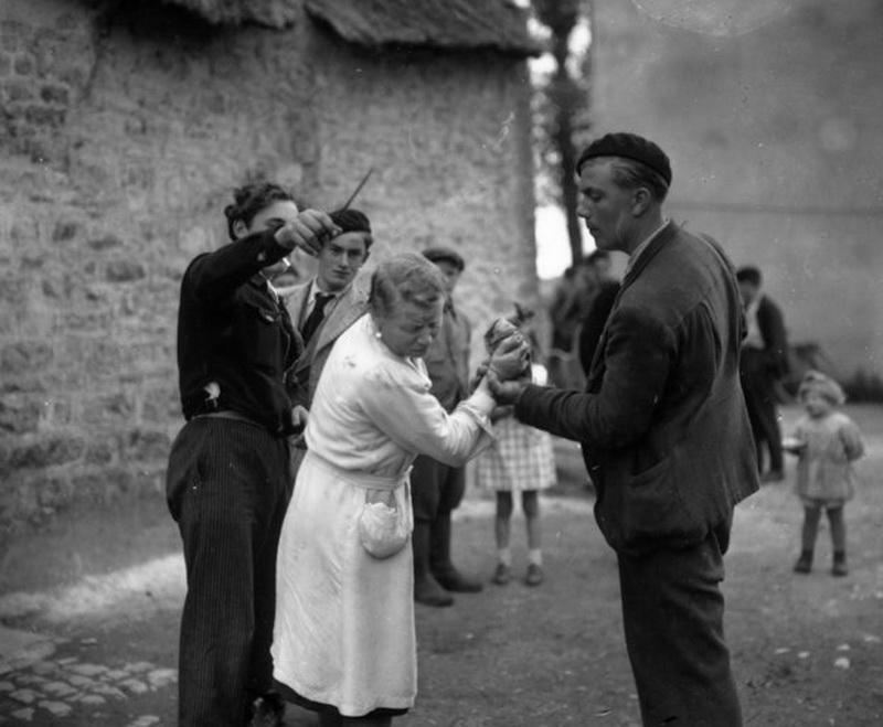 mujeres francesas colaboracionistas nazis gestapo