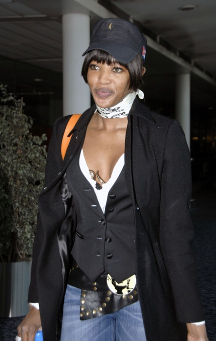 naomi campbell without no make up