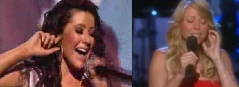 oido-dedo-cantantes-christina aguilera mariah carey