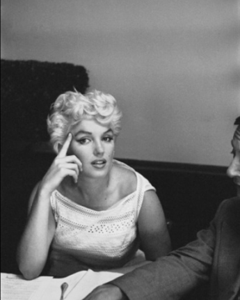 Marilyn Monroe Eve Arnold 89