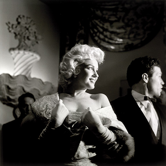 Marilyn Monroe Eve Arnold Studio Ball