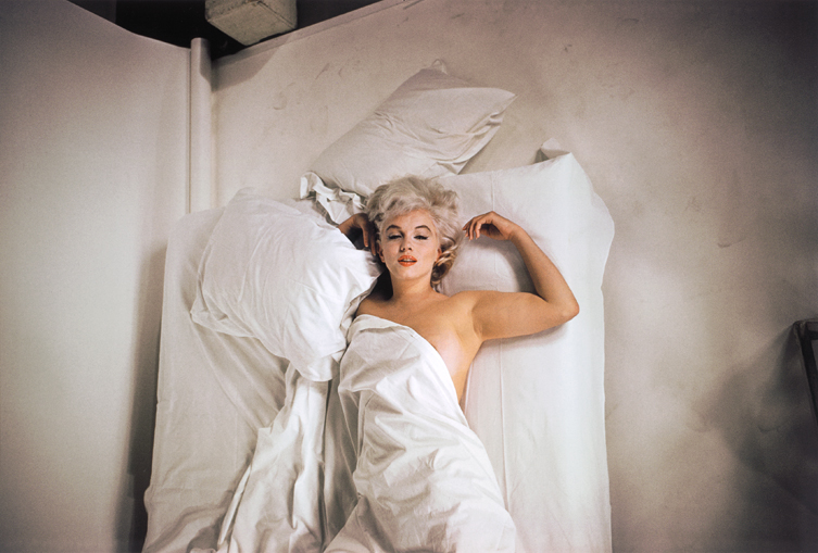 Marilyn Monroe Eve Arnold Studio Shot