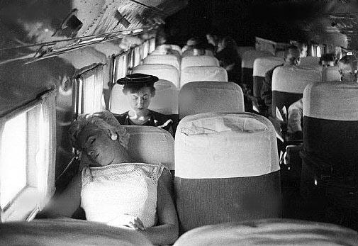 Marilyn Monroe Eve Arnold avion 1