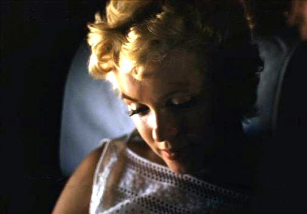 Marilyn Monroe Eve Arnold avion 2