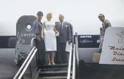 Marilyn Monroe Eve Arnold avion 4