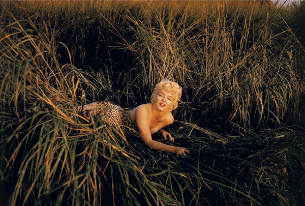 Marilyn Monroe Eve Arnold leopardo Mount Sinai Long Island 1955