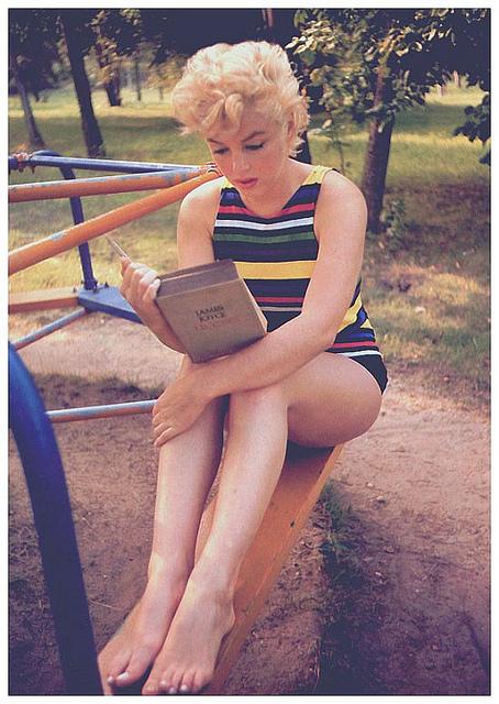 Marilyn Monroe Eve Arnold libro 9