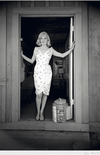 Marilyn Monroe Eve Arnold misfits 37