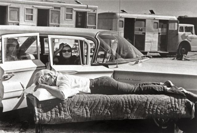 Marilyn Monroe Eve Arnold misfits durmiendo