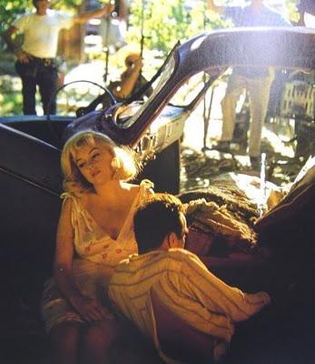 Marilyn Monroe Eve Arnold misfits set