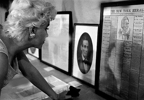 Marilyn Monroe Eve Arnold museo lincoln 1955
