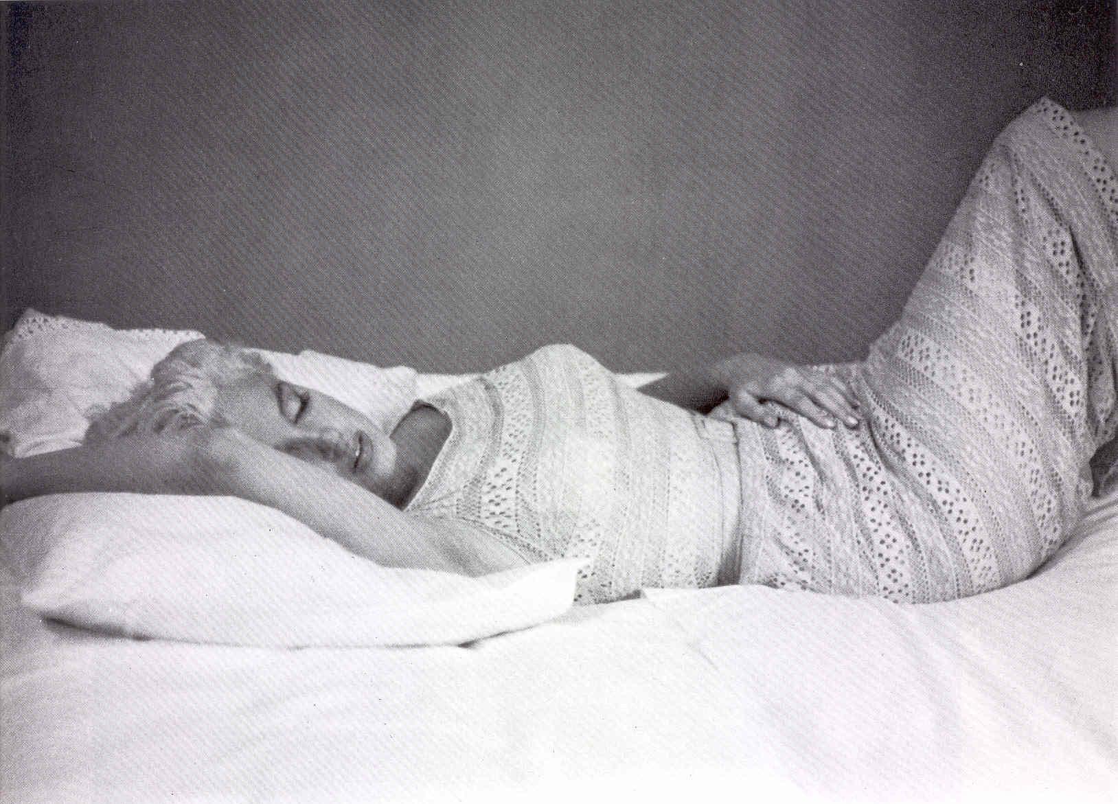 Marilyn Monroe Eve Arnold pause 1