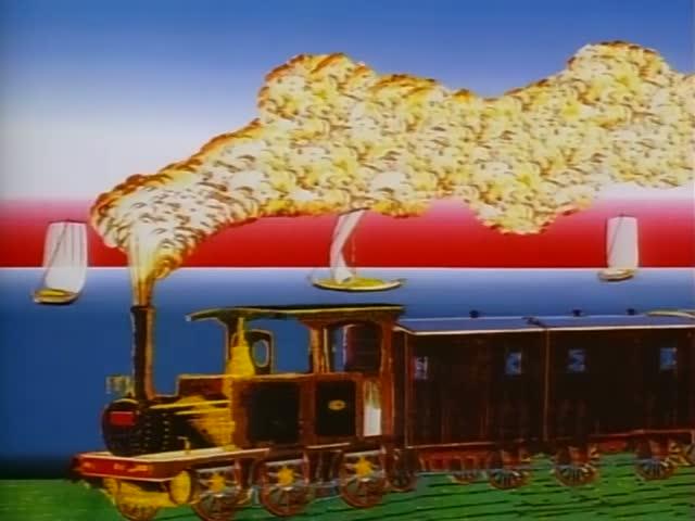 epoca meiji aparicion tren ferrocarril japon