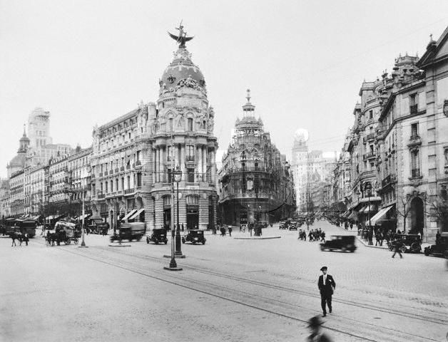Main Boulevards in Madrid