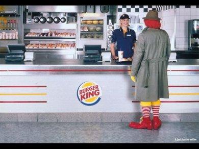 publicidad ingeniosa burger king
