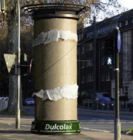 publicidad ingeniosa dulcolax