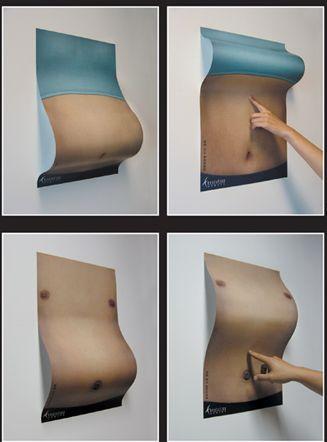 publicidad ingeniosa fitness