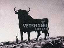 toro osborne antiguo veterano